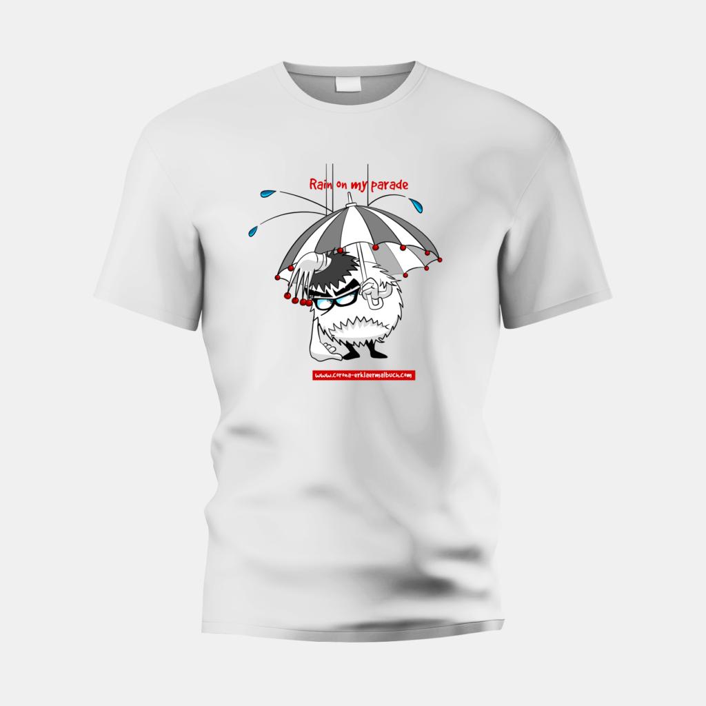 T-Shirt weiss rain 06